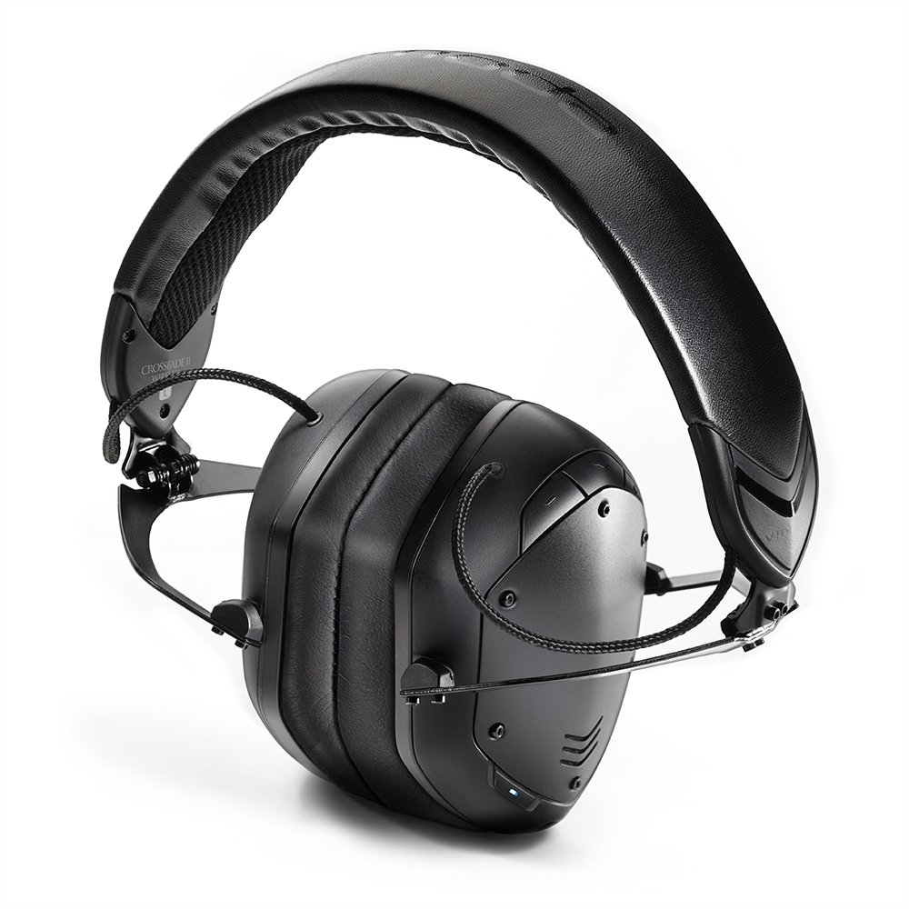 V-Moda - Auriculares inalámbricos de Diadema con Aislamiento de Ruido y 2 Códigos de Audio, Edición inalámbrica, Color Negro Mate (XFBT2A-MBLACKM): ...
