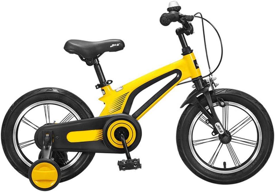 Momi Bicicleta De Aleación Ligera De Magnesio Balanceada De 14 Pulgadas Y 16 Pulgadas para Bicicletas Infantiles para Niños Y Niñas De 3 A 8 Años