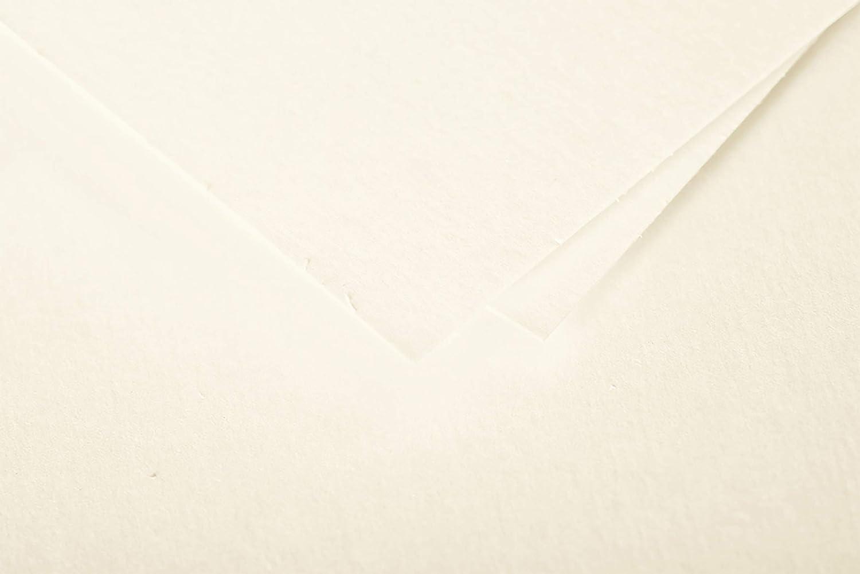 Clairefontaine 1517C Pollen Paquet de 25 Cartes 10,6x21,3 cm Ivoire