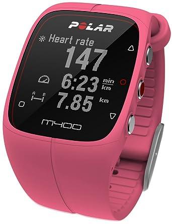 Polar M400 90057192 carcasa de silicona reloj de cuarzo de la mujer: Polar: Amazon.es: Relojes
