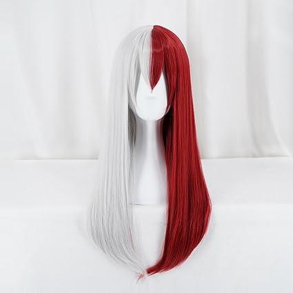 Ani·Lnc peluca para mujeres Anime Cosplay peluca pelucas sintéticas del pelo corto con el