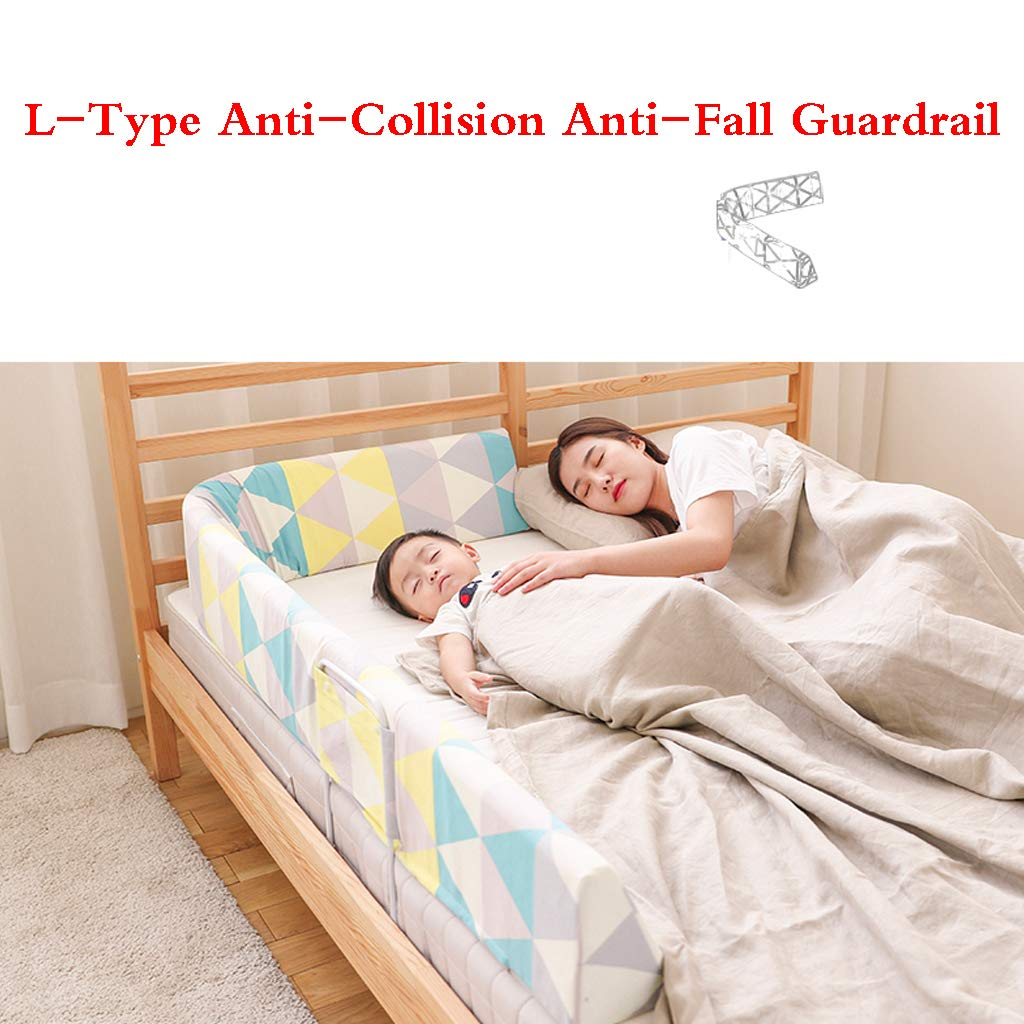 Kids Bed Safety Rails Portable and Steady Bed Guard Baby Safety Bed Rail Single Toddler Bed Rail by SONGTING Guardrail (Image #5)