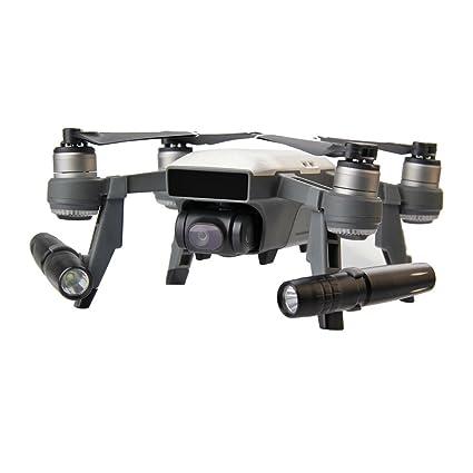 HuaMore - Lámpara LED de luz Nocturna para dron dji Spark RC FPV ...