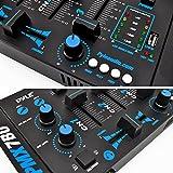 Wireless DJ Audio Mixer Machine - 3 Channel