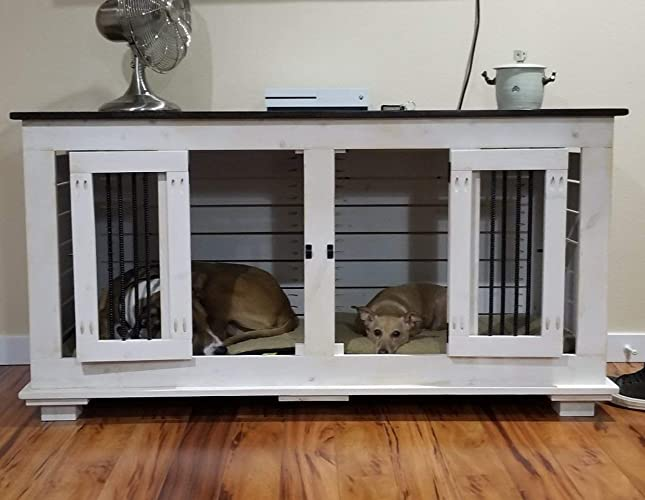 Amazon Com Custom Indoor Kennel Furniture For You Dog Pets Home Of