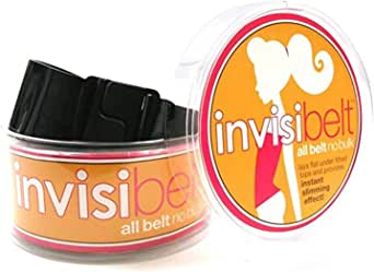 Invisibelt - No Show Women's Belt, Original Slimming Belt, Adjustable Flat Belt, Function over Fashion
