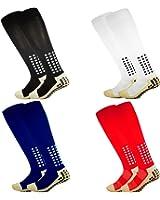 Antiscivolo calze da calcio, calzini sportivi, tamponi in gomma antiscivolo, alta qualità, pallacanestro, calcio, escursionismo, corsa