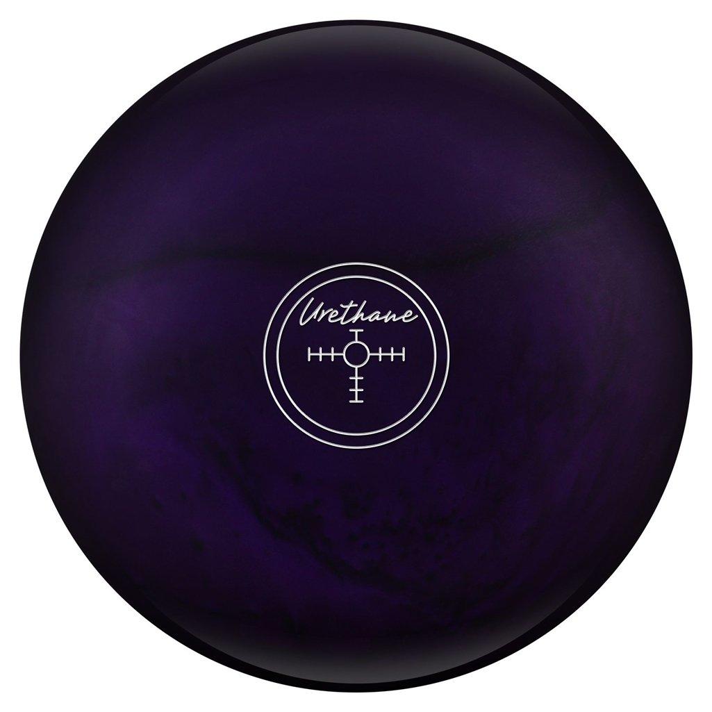 Hammer Purple Pearl Urethane Bowling Ball, Green/Smoke/Gold, 14 lb