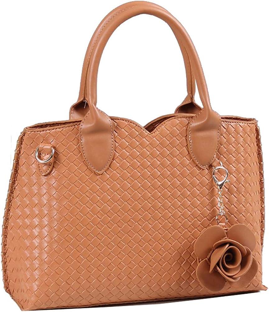 Leather TopHandle Handbag...
