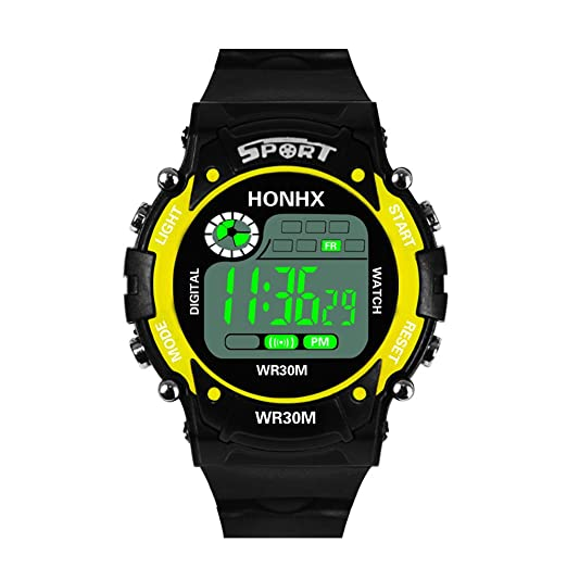 Dylung Reloj para Hombre Deportivos Digital Reloj de Pulsera de Hombre Relojes Unisex Inteligente con LED Cuarzo Japonés Multifunciónal Resistente al Agua ...