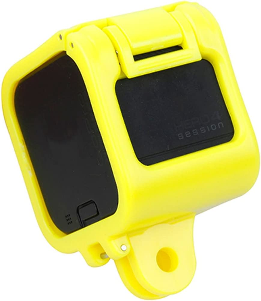 Camera Accessories Color : Yellow Pink Low-Profile Frame Mount for GoPro HERO5 Session //HERO4 Session//Hero Session