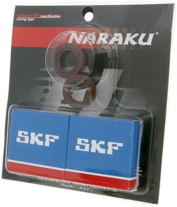 Kurbelwellenlager Satz NARAKU SKF Metallk/äfig f/ür Liberty 50 Post DT 2T 02-04 ZAPC421