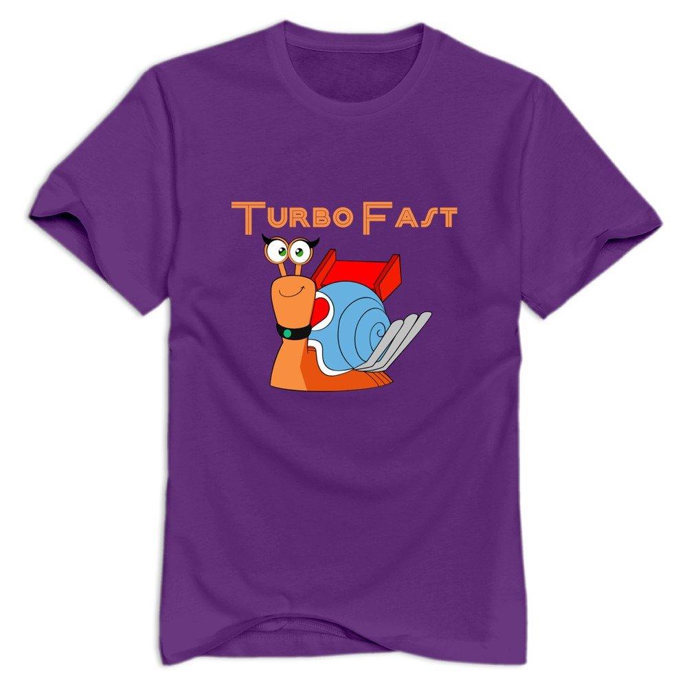 Amazon.com: Turbo Fast Geek 100% Cotton Purple Tshirt For Teenagers Size S (6262388887534): Books