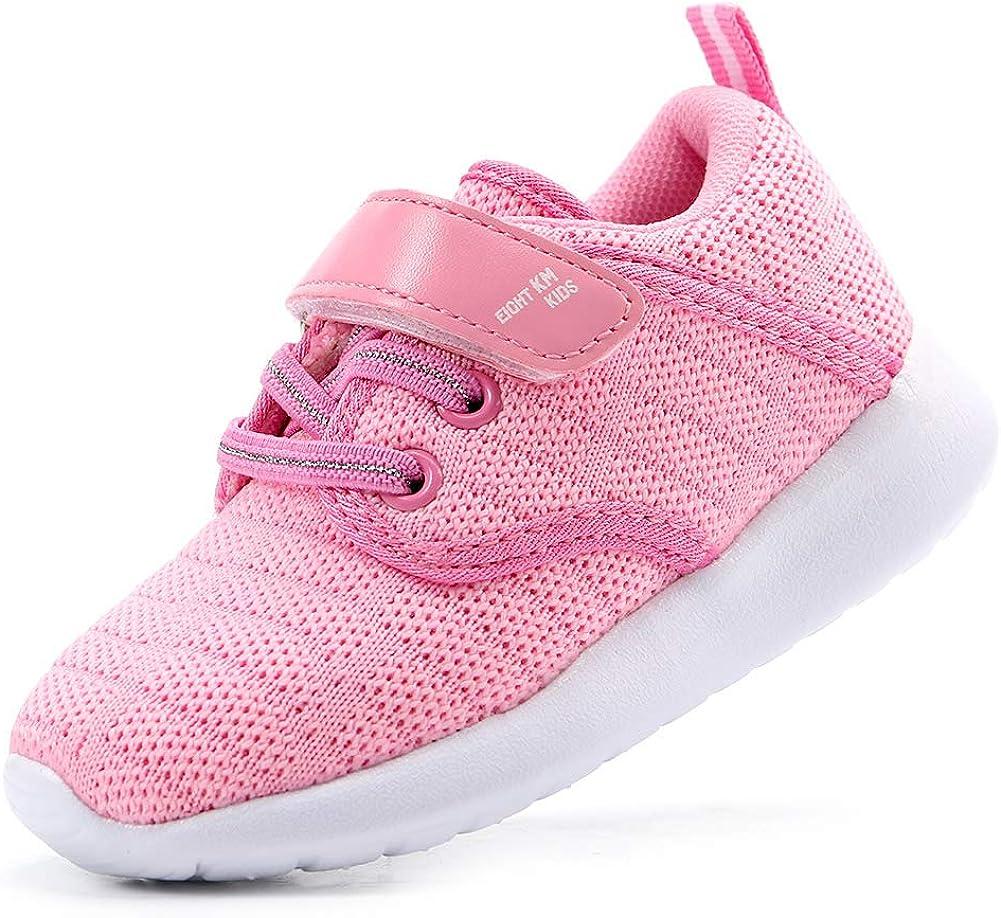 EIGHT KM Toddler Boys//Girls Shoes Lightweight Kids Sneakers