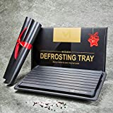 Extra Thick and Large Fast Defrosting Tray Set