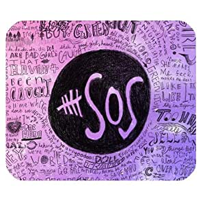 Generic Personalized Australia Band 5 Seconds of Summer 5SOS Graffiti Style for Rectangle Mouse Pad by mcsharks