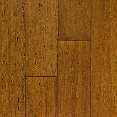 Solid Strandwoven Tawny 1/2 in. x 3-3/4 in. x 72-3/4 in. Length Tongue & Groove Bamboo Flooring (22.95 sq. ft./case)