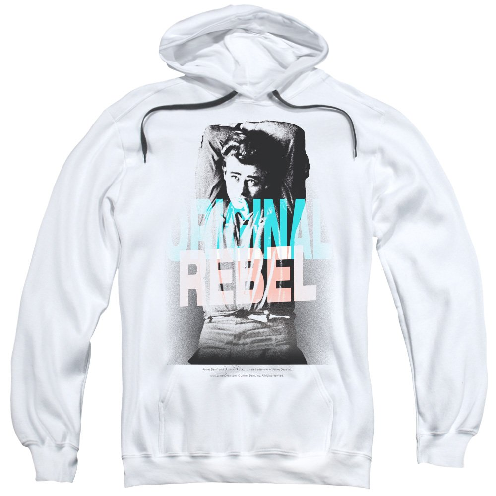 2Bhip James dean hollywood-ikone verschränkten armen ursprünglichen rebell hoodie für Herren