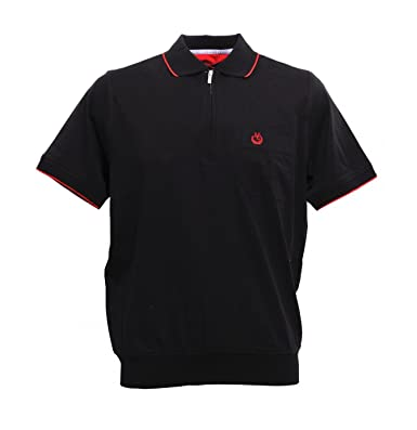 MONTE CARLO 64574 - Camiseta Polo de Hilo de Escocia para Hombre ...