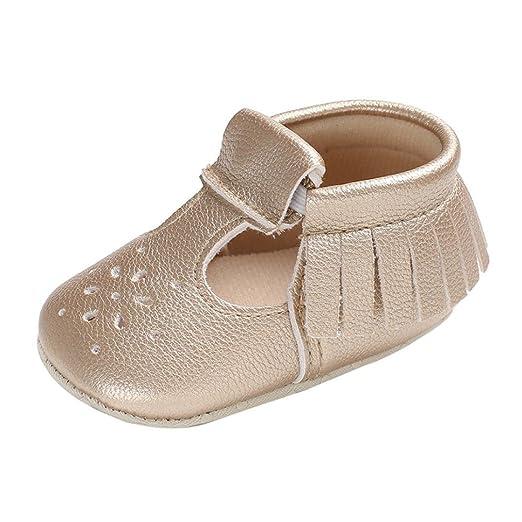 Zapatos de Bebé cinnamou Joven Bebé Niña suave Suela Guantes Sneakers Casual unidad lernschuhe krippeschuhe borlas