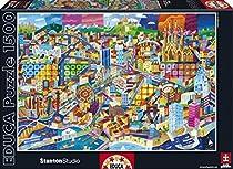 Barcelona, Philip Stanton - Educa 1500 Piece Puzzle by Educa