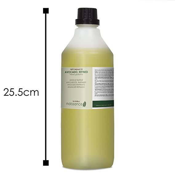 Naissance Aguacate Refinado - Aceite Vegetal Prensado en Frío 100% Puro - 1 Litro: Amazon.es: Belleza