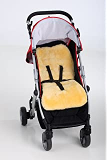 Baby Stroller Car Seat Bike Seat Lambskin Sheepskin Liner Pushchair
