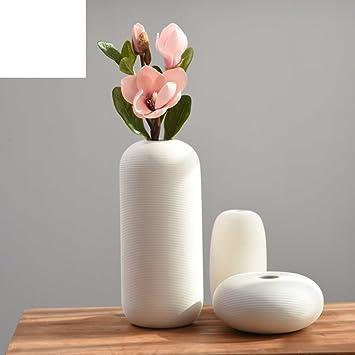 Das Hausgemachte Vase/Dekoration/Wohnzimmer weiß Keramik Dekoration ...