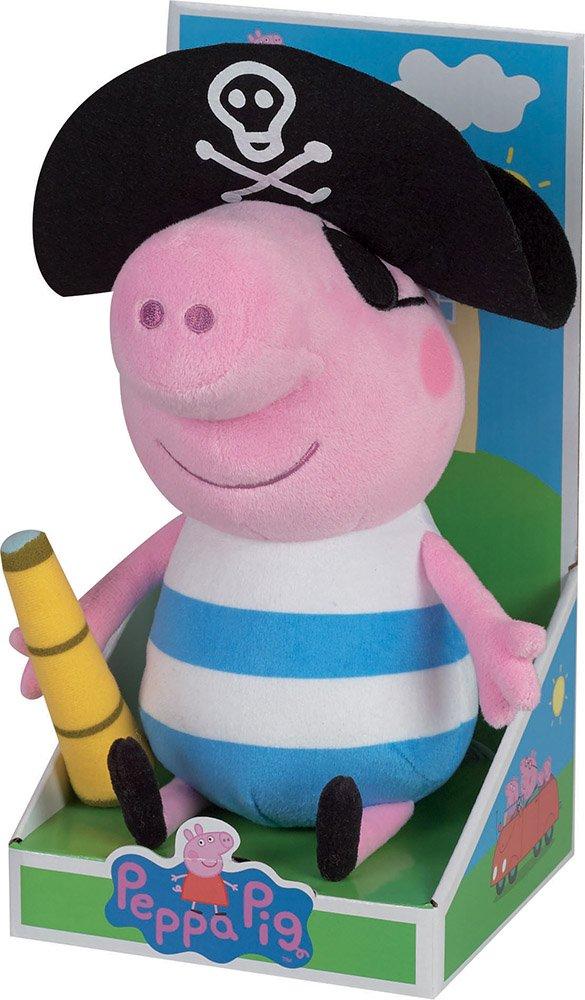 Cijep Jemini - 022994 - Peppa Pig - Peluche de George Pirata (+/-30 cm): Amazon.es: Juguetes y juegos