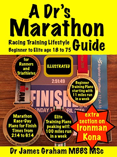 A Dr's Marathon Racing Training Lifestyle Guide: Runners and Triathletes from Beginner to Elite (A Dr's Sport & Lifestyle Guide Book - Triathlon Training Elite