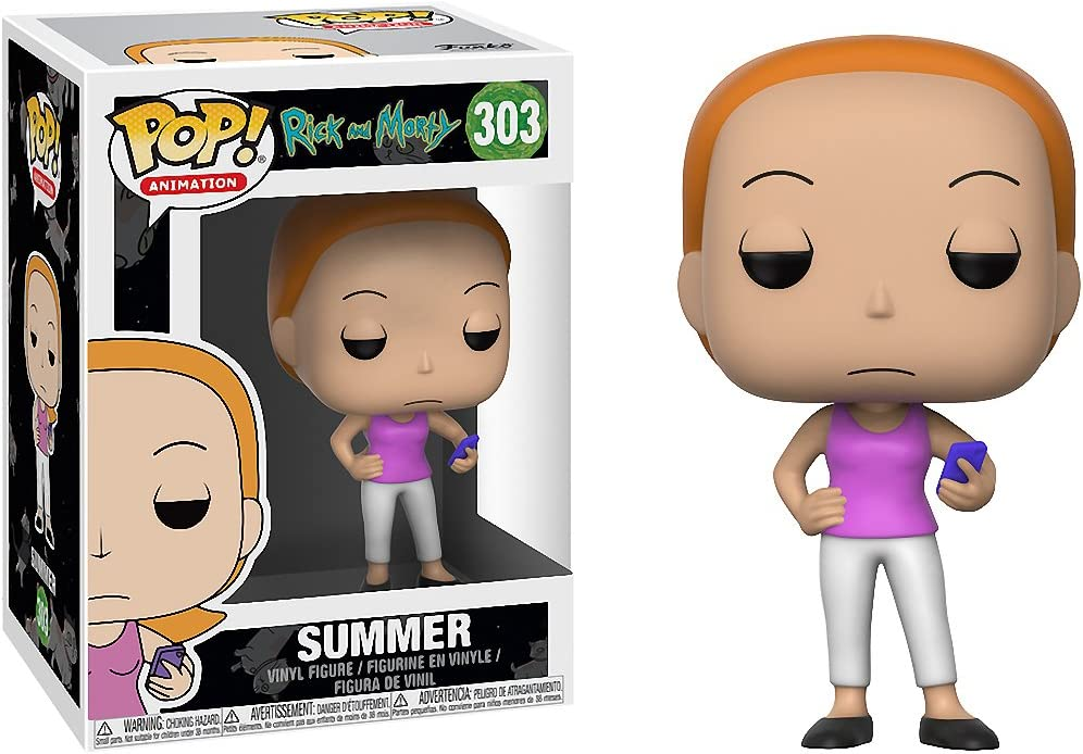 Animation #301 Vinyl Figur Funko Beth The Rick and Morty TV Show POP