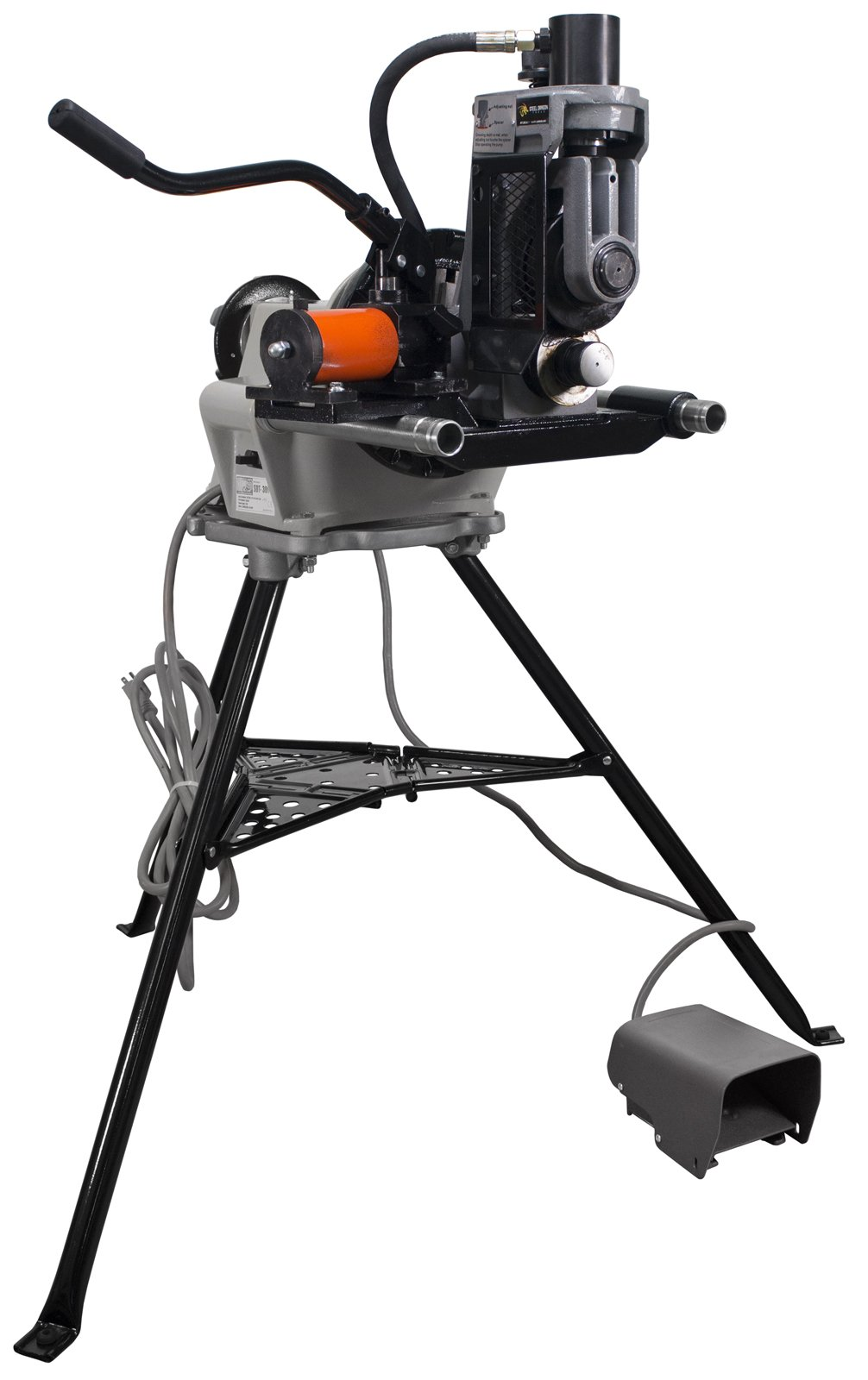 Steel Dragon Tools 918 Roll Groover 48297 Roll Groover fits RIDGID 300 Power Drive Pipe Threading Machine