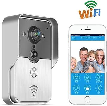 TOGUARD Intercomunicador videoportero inalámbrico WiFi, detector ...