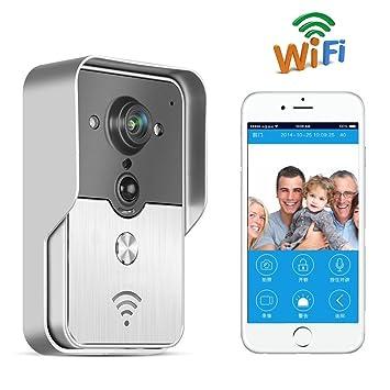 Intercomunicador videoportero inalámbrico WiFi Toguard, detector de movimiento por infrarrojos, hermético, admite App