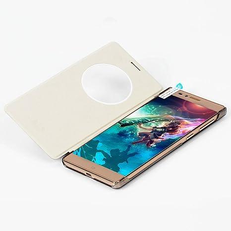 ELE Original Elephone vowney PU Piel Flip Cover Piel Sintética con plástico para Elephone vowney Smartphone Funda Móvil Case Funda Funda Carcasa Funda: Amazon.es: Electrónica