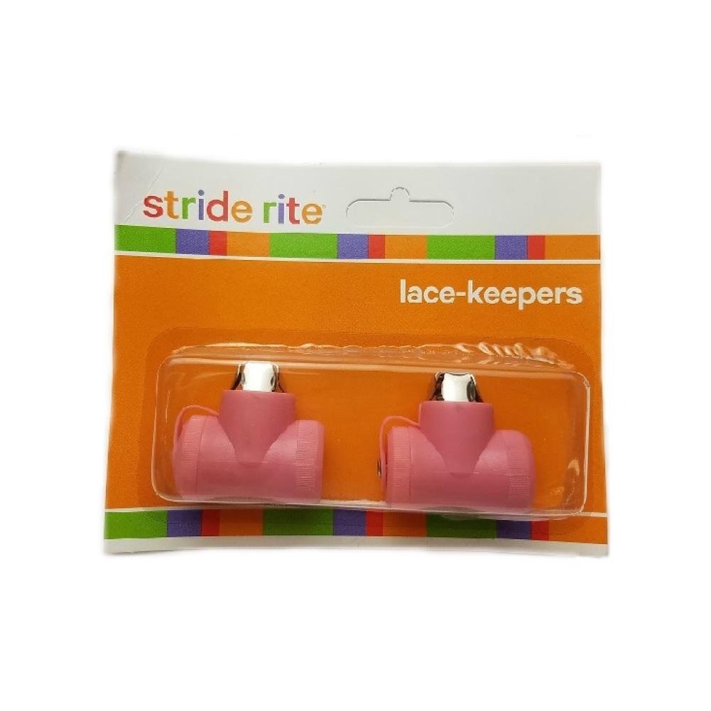 Stride Rite Lace Keepers 1 Pair Per Pack 2 Keepers Unisex Clothing Bell On Top