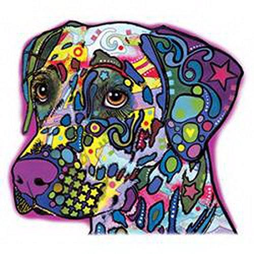 Dalmatiner/Umhängetasche/Tasche-Vintagelook mit Dog-Neon-Druck: Dalmatian für Hundefreunde