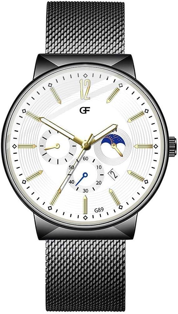2020 Ultra flach Herren Damen Uhren Armbanduhr 40mm mit