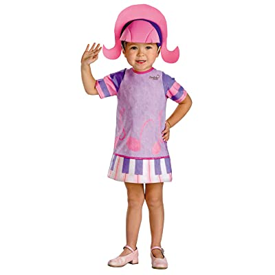 Doodlebops Deedee Costume: Toddler's Size 2T: Clothing