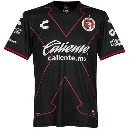 Amazon.com   Charly Futbol 2018 Club Tijuana 3rd Jersey   Sports ... dec9b869d