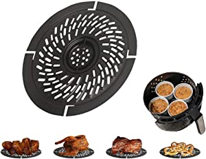Non-Stick Air Fryer Replacement Grill Pan for Gowise Gourmia Cozyna Ninja Air Fryer, Nonstick Frying Pan, Accessories Fit 2QT-2.6QT Air Fryer