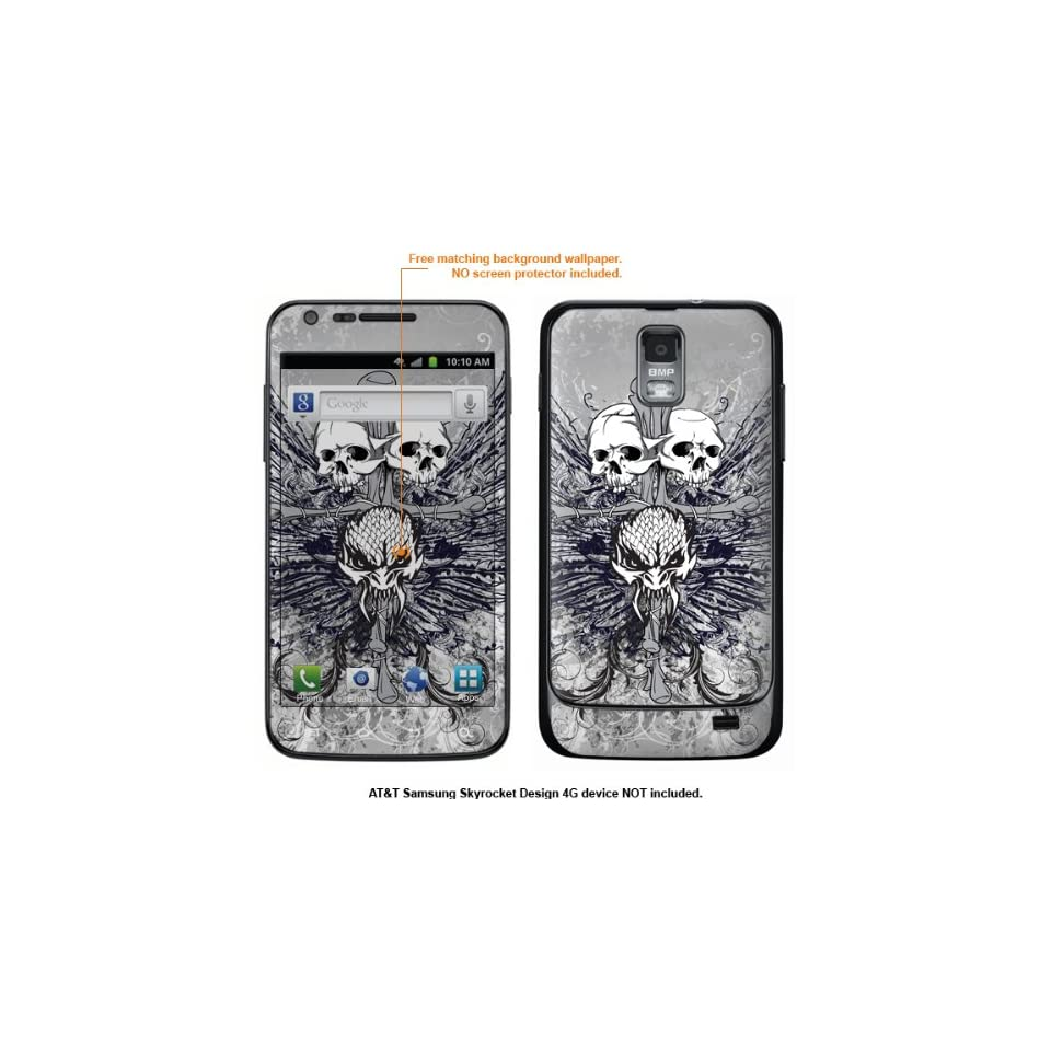 Protective Decal Skin Sticker for Samsung Galaxy S II Skyrocket (AT&T Model) case cover Skyrocket 406