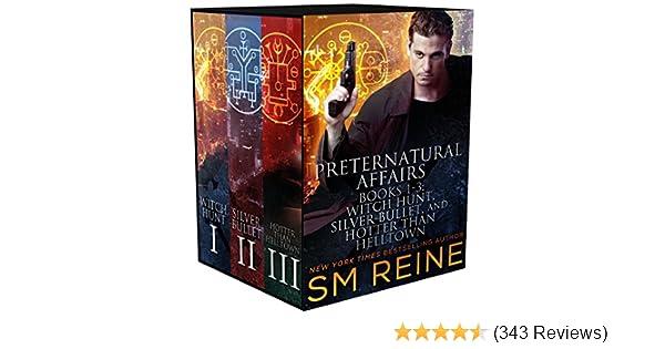 Amazon Preternatural Affairs Books 1 3 Witch Hunt Silver