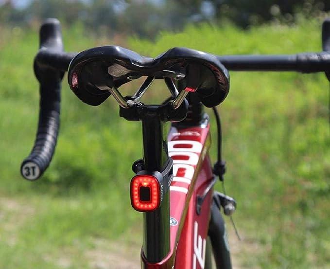 LED Motion Sensing Bike Brake Lights, IDEM CubeLiteII Smart Bicycle Taillight