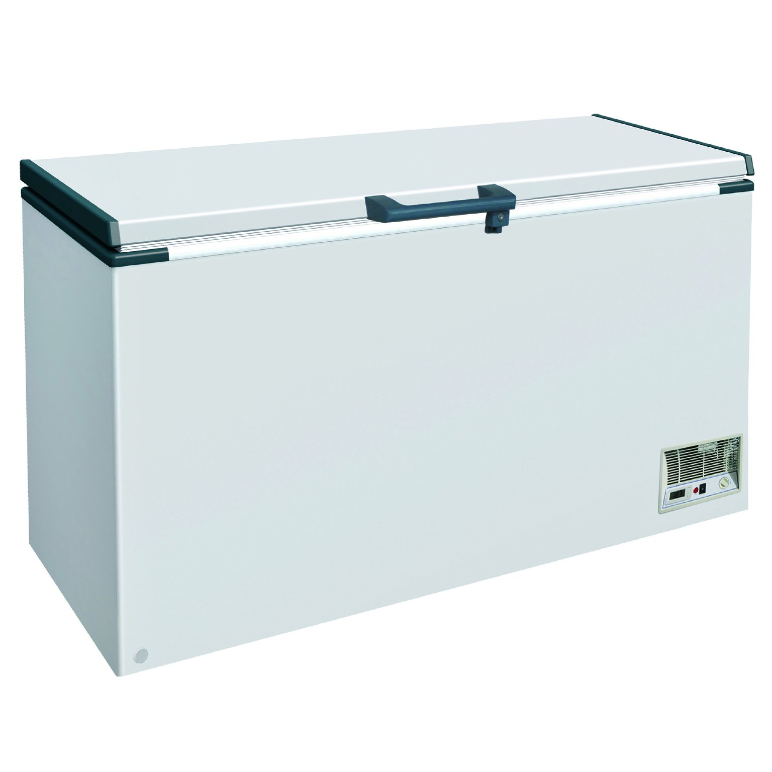 DUURA DVCF14.2 Solid Chest Freezer, White by DUURA