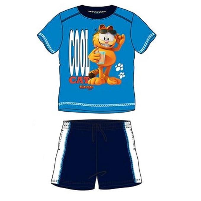 Garfield-Pijama multicolor 3 años