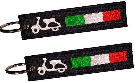 Moto Discovery Vespa Italy Doppelseitiger Schlüsselanhänger 1 Stück Auto