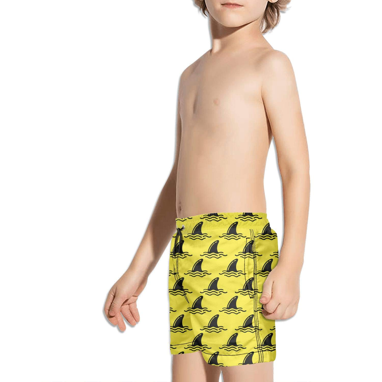 LKIMNJ Boys Swim Trunks Whales Vector Image Quick Dry Bathing Suits Beach Board Shorts