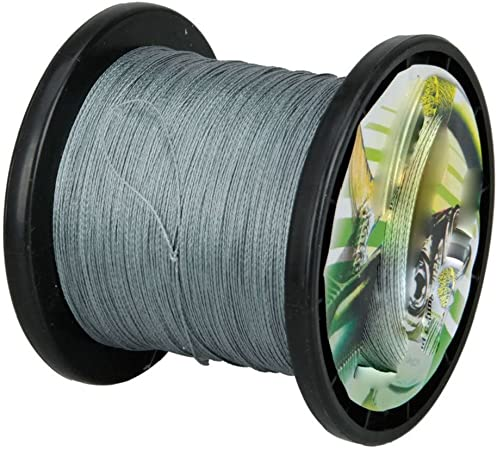 4 Strands Roll Fishing Line Braided Wire PE Lines Abrasion Resistant 15-100LB UK