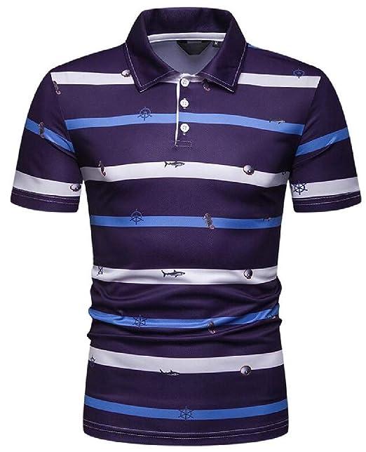 Fubotevic Mens Solid Summer Button Up Pockets Slim Washed Denim Work Western Shirt